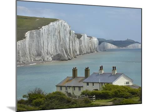 Seven Sisters Chalk Cliffs, Cuckmere Haven, Near Seaford, East Sussex, England-David Wall-Mounted Photographic Print