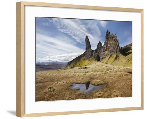 Old Man of Storr, Isle of Skye, Scotland-David Wall-Framed Art Print