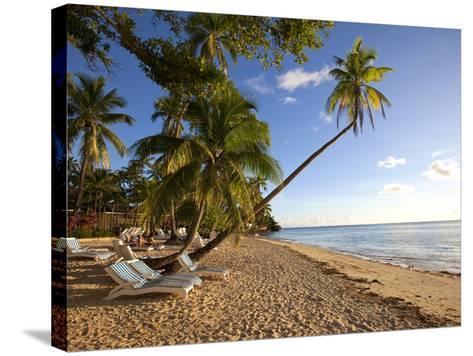 Shangri-La Fijian Resort and Spa, Coral Coast, Viti Levu, Fiji-Douglas Peebles-Stretched Canvas Print