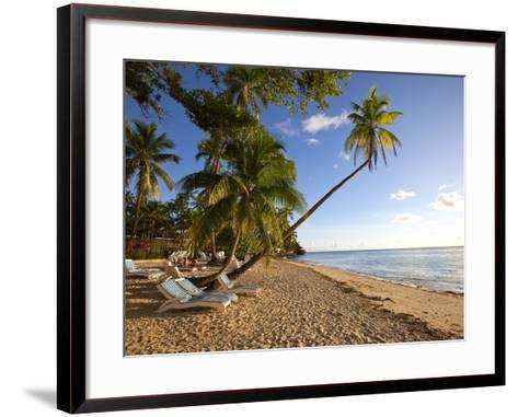 Shangri-La Fijian Resort and Spa, Coral Coast, Viti Levu, Fiji-Douglas Peebles-Framed Art Print