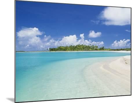 Beach, Rangiroa, French Polynesia-Douglas Peebles-Mounted Photographic Print