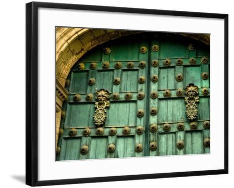 Plaza De Armas, the Heart of Cuzco, Peru-Jerry Ginsberg-Framed Art Print