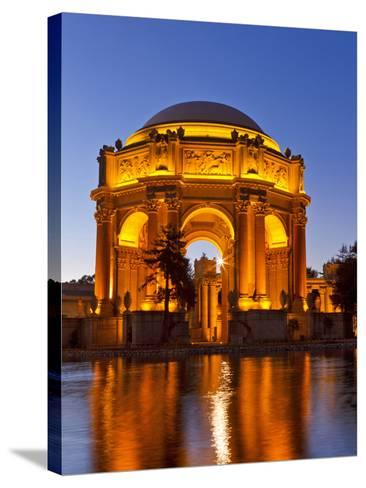 Palace of Fine Arts at Dusk in San Francisco, California, Usa-Chuck Haney-Stretched Canvas Print