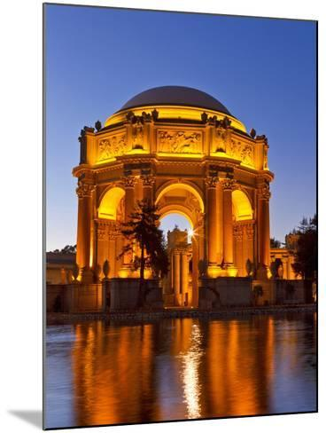 Palace of Fine Arts at Dusk in San Francisco, California, Usa-Chuck Haney-Mounted Photographic Print