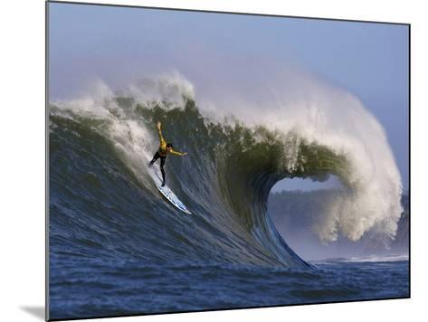 Mavericks Surf Competition 2010, Half Moon Bay, California, Usa-Rebecca Jackrel-Mounted Photographic Print