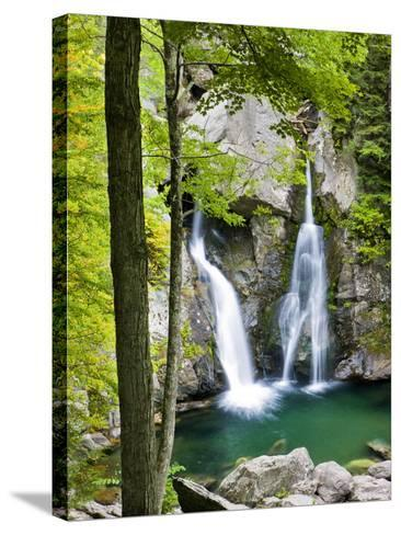 Bish Bash Falls in Bish Bash Falls State Park in Mount Washington, Massachusetts, Usa-Jerry & Marcy Monkman-Stretched Canvas Print