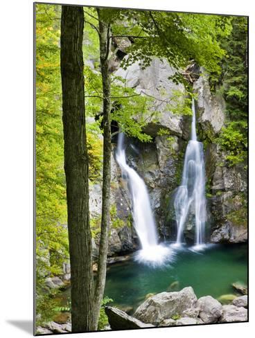 Bish Bash Falls in Bish Bash Falls State Park in Mount Washington, Massachusetts, Usa-Jerry & Marcy Monkman-Mounted Photographic Print