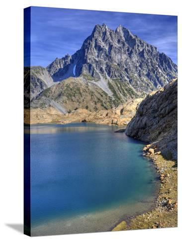 Ingalls Lake and Mt. Stuart, Alpine Lakes Wilderness, Washington, Usa-Jamie & Judy Wild-Stretched Canvas Print