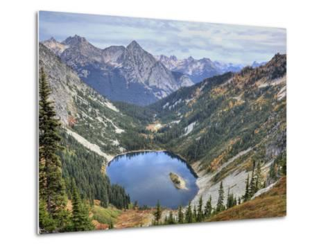 Lake Ann from Maple Pass Loop Trail, Wenatchee National Forest, Washington, Usa-Jamie & Judy Wild-Metal Print