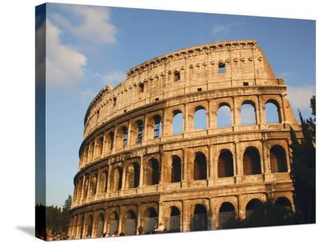 Roman Art, the Colosseum or Flavian Amphitheatre, Rome, Italy-Prisma Archivo-Stretched Canvas Print