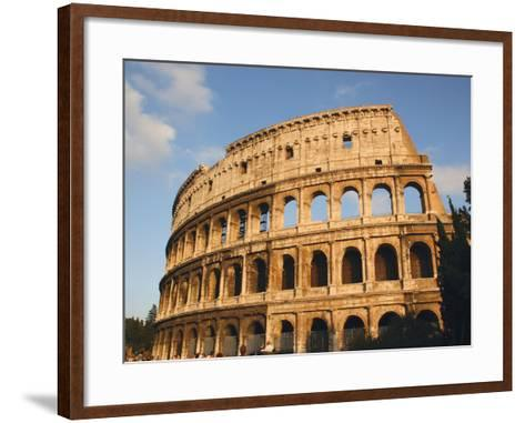 Roman Art, the Colosseum or Flavian Amphitheatre, Rome, Italy-Prisma Archivo-Framed Art Print