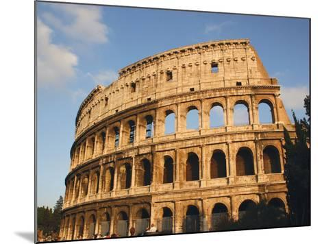 Roman Art, the Colosseum or Flavian Amphitheatre, Rome, Italy-Prisma Archivo-Mounted Photographic Print