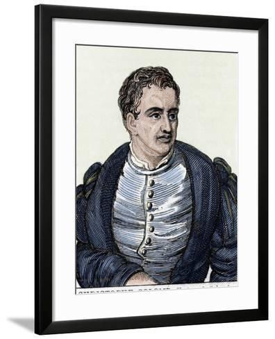 Christopher Columbus (1451-1506). Navigator, Colonizer, and Explorer-Prisma Archivo-Framed Art Print