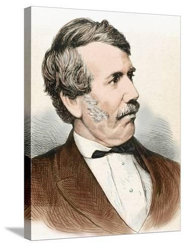 David Livingstone (1813-1873). Scottish Explorer-Prisma Archivo-Stretched Canvas Print