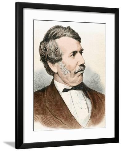 David Livingstone (1813-1873). Scottish Explorer-Prisma Archivo-Framed Art Print