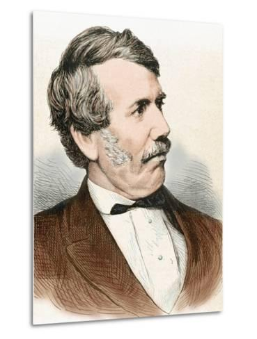 David Livingstone (1813-1873). Scottish Explorer-Prisma Archivo-Metal Print
