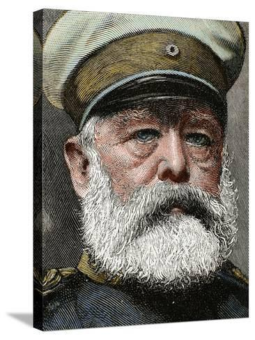 German Statesman. Proclamed Chancellor of the Empire in 1871-Prisma Archivo-Stretched Canvas Print
