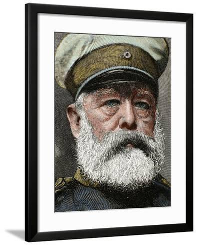 German Statesman. Proclamed Chancellor of the Empire in 1871-Prisma Archivo-Framed Art Print