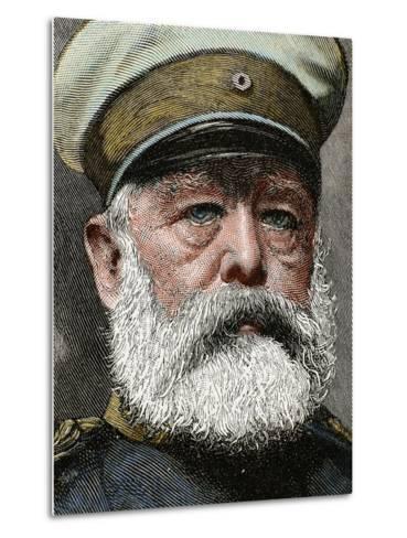 German Statesman. Proclamed Chancellor of the Empire in 1871-Prisma Archivo-Metal Print