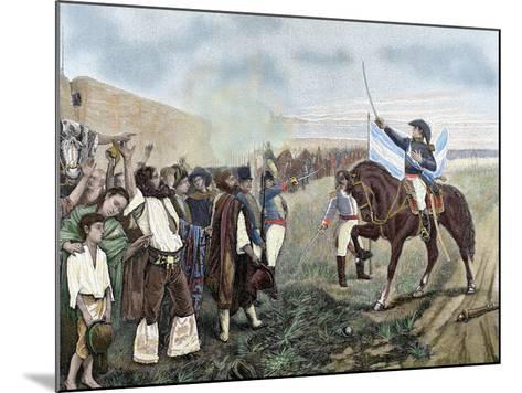 Independence of Argentina. Manuel Belgrano (1770-1820)-Prisma Archivo-Mounted Photographic Print