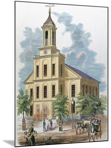 St. Charles' Church. Boston, Massachusetts, Usa-Prisma Archivo-Mounted Photographic Print