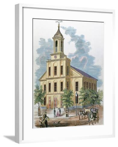 St. Charles' Church. Boston, Massachusetts, Usa-Prisma Archivo-Framed Art Print