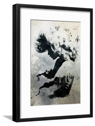 Black Cloud-Alex Cherry-Framed Art Print