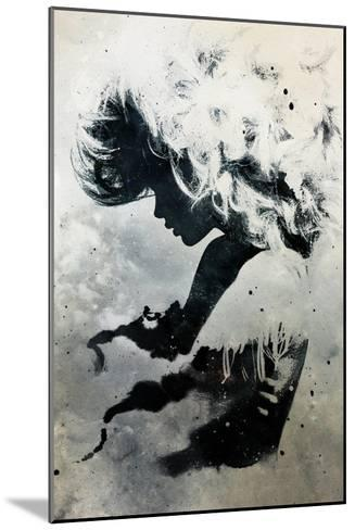 Black Cloud-Alex Cherry-Mounted Art Print