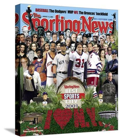 Best Sports City New York - August 13, 2001--Stretched Canvas Print