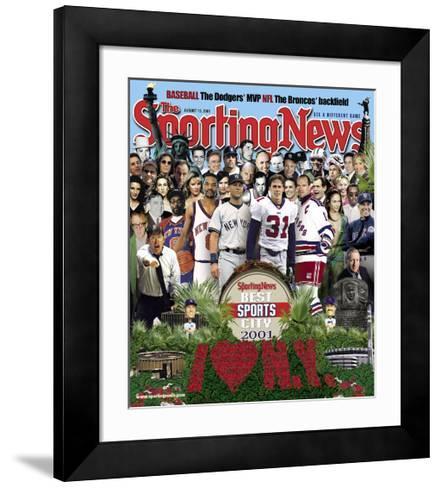 Best Sports City New York - August 13, 2001--Framed Art Print