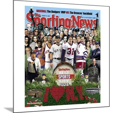 Best Sports City New York - August 13, 2001--Mounted Photo