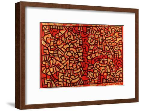 Untitled, 1979-Keith Haring-Framed Art Print