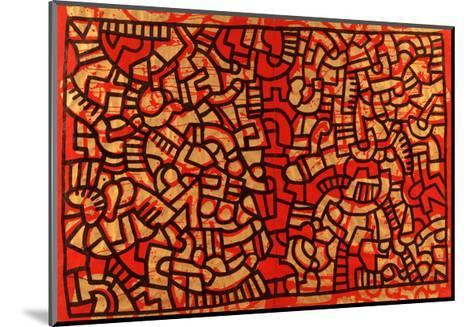 Untitled, 1979-Keith Haring-Mounted Giclee Print