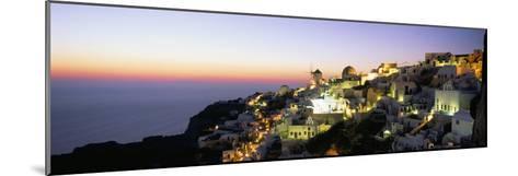 Oia (Ia), Island of Santorini (Thira), Cyclades Islands, Aegean, Greek Islands, Greece, Europe-Sergio Pitamitz-Mounted Photographic Print
