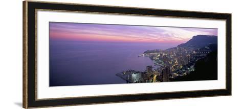 Monte Carlo, Monaco, Cote D'Azur, Mediterranean, Europe-Sergio Pitamitz-Framed Art Print