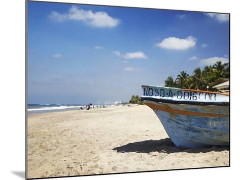 Mount Lavinia Beach, Mount Lavinia, Colombo, Sri Lanka, Asia-Ian Trower-Mounted Photographic Print