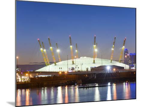 Canary Wharf, London Docklands, London, England, United Kingdom, Europe-Graham Lawrence-Mounted Photographic Print
