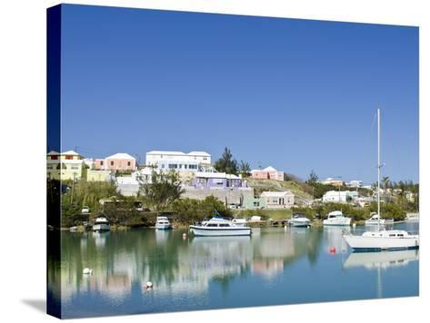 Mullet Bay in St. George'S, Bermuda, Central America-Michael DeFreitas-Stretched Canvas Print