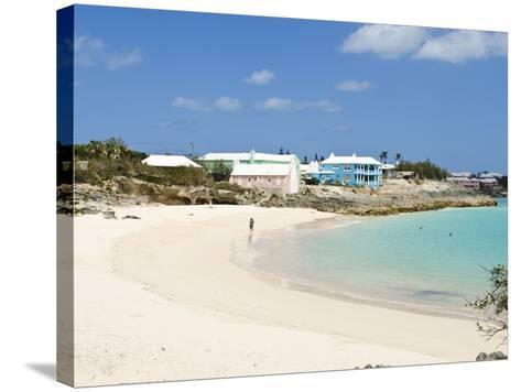 John Smith's Bay, Bermuda, Central America-Michael DeFreitas-Stretched Canvas Print