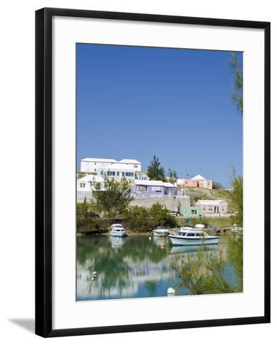 Mullet Bay in St. George'S, Bermuda, Central America-Michael DeFreitas-Framed Art Print