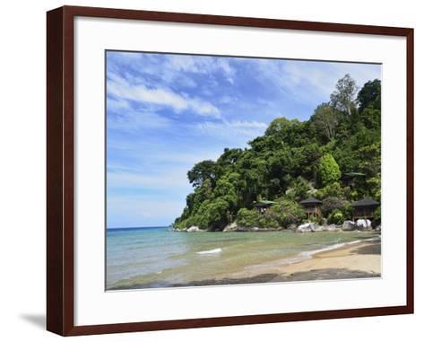 Salang Beach, Pulau Tioman (Tioman Island), Pahang, Malaysia, Southeast Asia, Asia-Jochen Schlenker-Framed Art Print