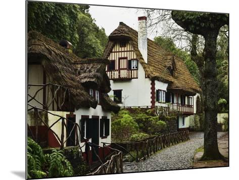 Traditional Madeira House, Queimadas, Madeira, Portugal, Atlantic Ocean, Europe-Jochen Schlenker-Mounted Photographic Print