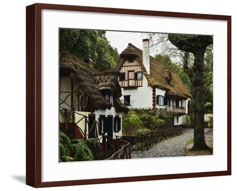 Traditional Madeira House, Queimadas, Madeira, Portugal, Atlantic Ocean, Europe-Jochen Schlenker-Framed Art Print
