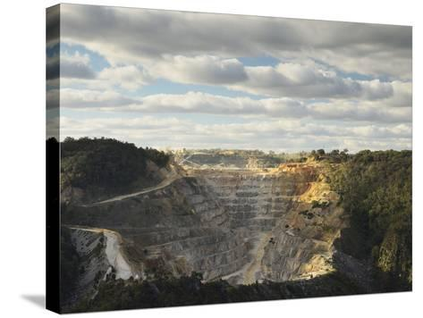 Limestone Quarry at Bungonia, New South Wales, Australia, Pacific-Jochen Schlenker-Stretched Canvas Print
