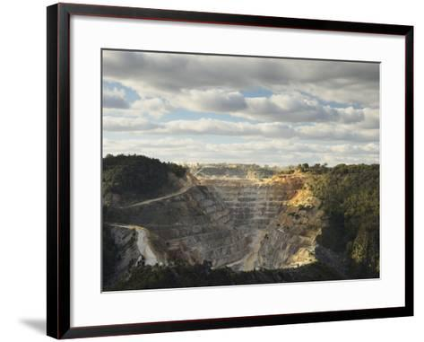 Limestone Quarry at Bungonia, New South Wales, Australia, Pacific-Jochen Schlenker-Framed Art Print