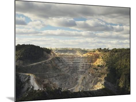 Limestone Quarry at Bungonia, New South Wales, Australia, Pacific-Jochen Schlenker-Mounted Photographic Print