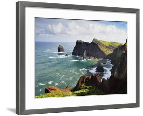 Ponta Do Castelo, Madeira, Portugal, Atlantic Ocean, Europe-Jochen Schlenker-Framed Art Print