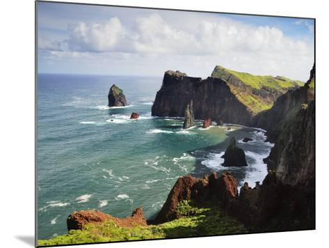 Ponta Do Castelo, Madeira, Portugal, Atlantic Ocean, Europe-Jochen Schlenker-Mounted Photographic Print