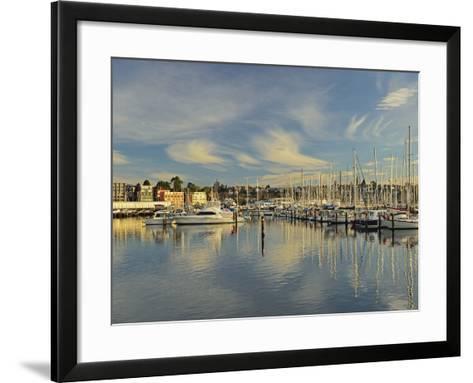 Sandy Bay, Hobart, Tasmania, Australia, Pacific-Jochen Schlenker-Framed Art Print