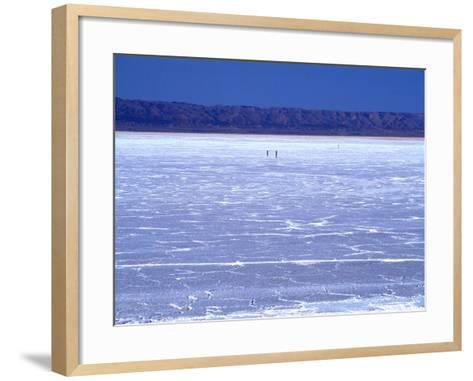 Chott El-Djerid, Tozeur, Tunisia, North Africa, Africa--Framed Art Print